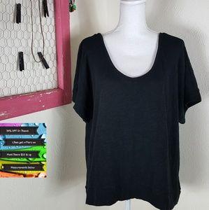 🆕️Soft Knit Black Blouse